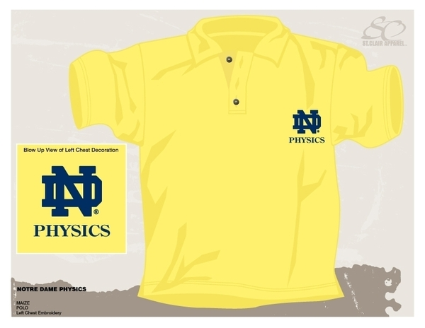 Maize Yellow Golf Shirt