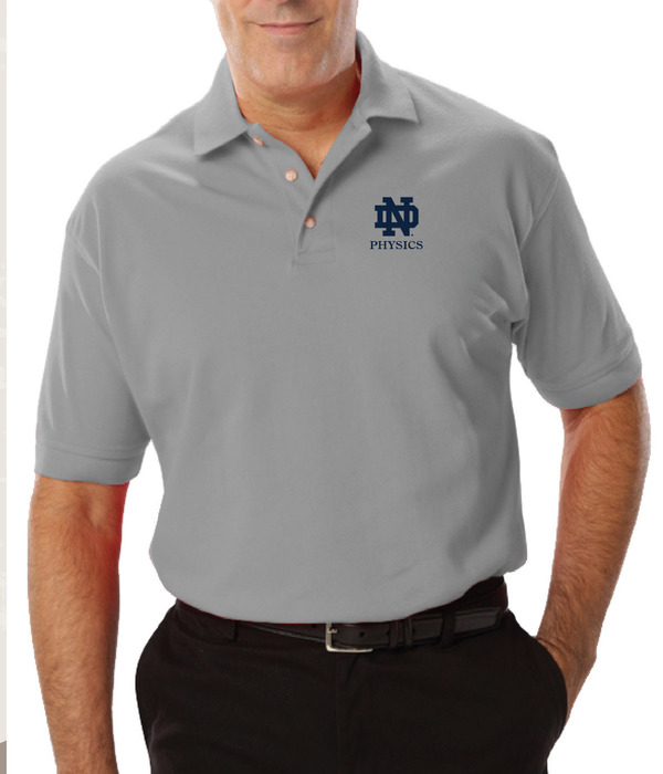 Silver Grey Physics Polo
