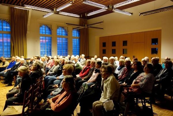 Wiescher History Talk Audience